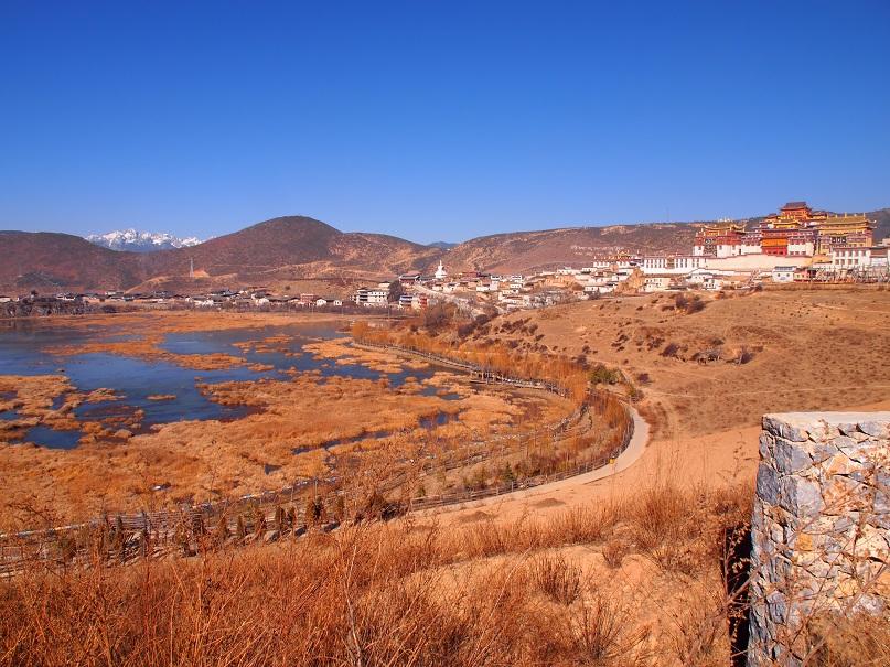 Monastère à ShangRiLa