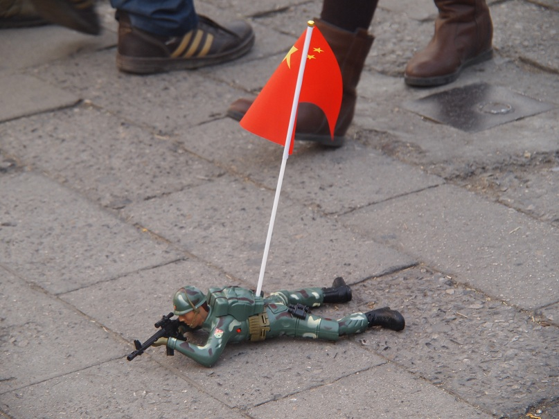 Un jouet chinois en vente dans la rue