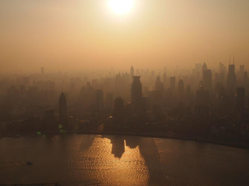 Vue depuis la Tour TV de Shanghai