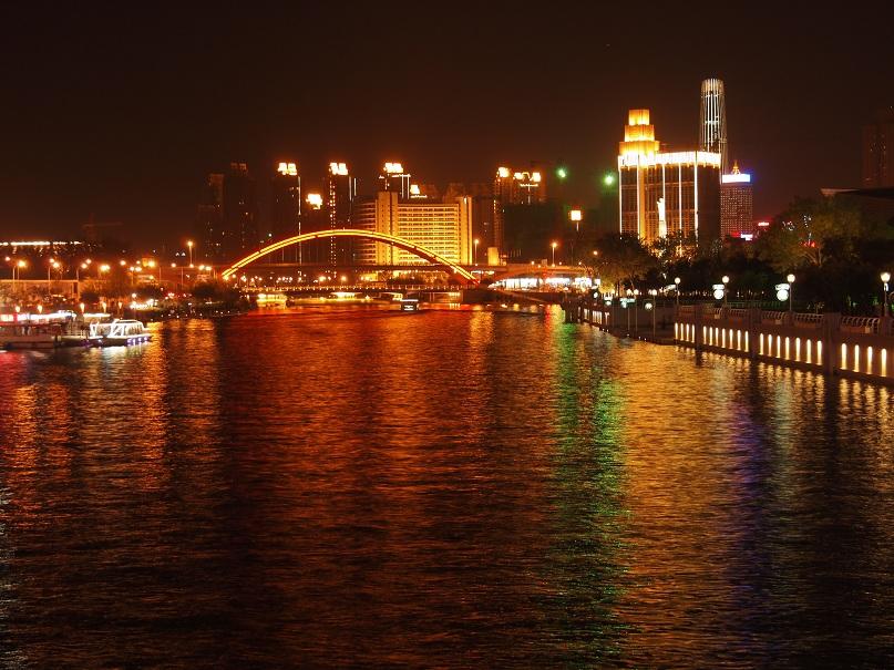 Tianjin Eye by Night