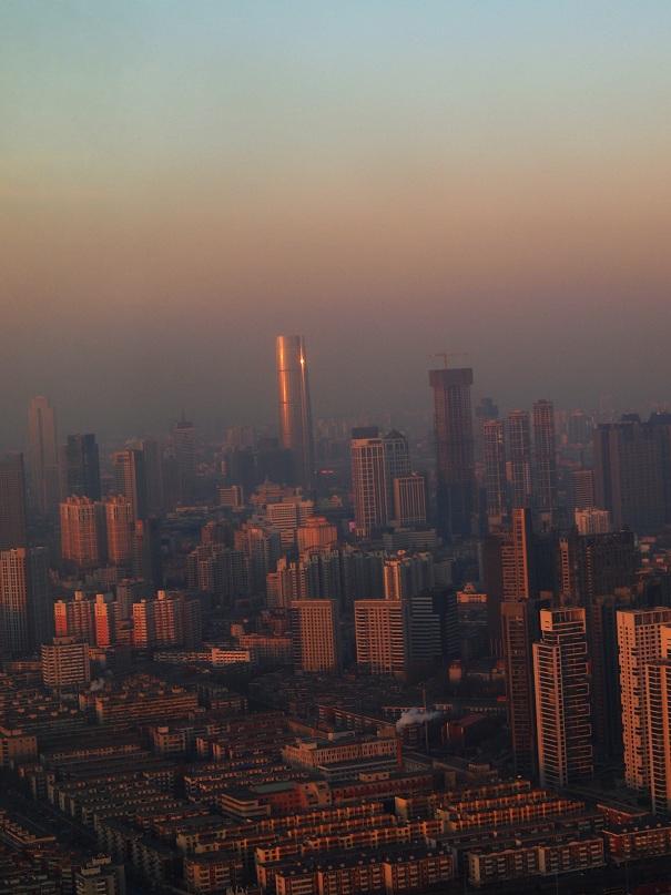 Vue de la Tour TV de Tianjin