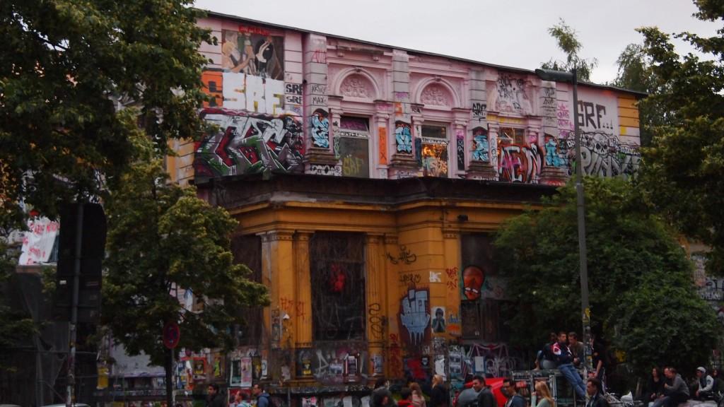 Skoite au centre de Hambourg