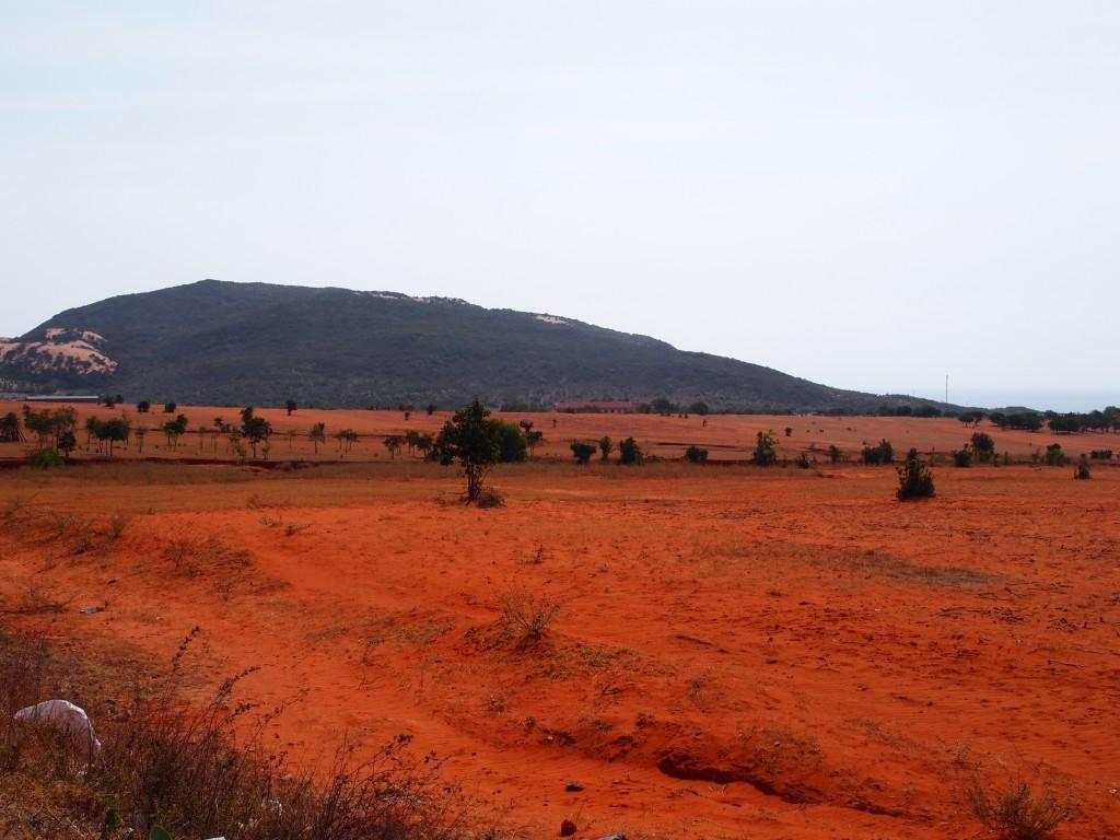 Sur la route des dunes blanches de Mui Ne